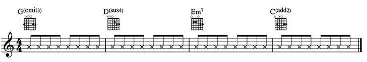Added chords example 2